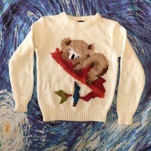 SOLD Ki Koala Bird Majestic International Sweater